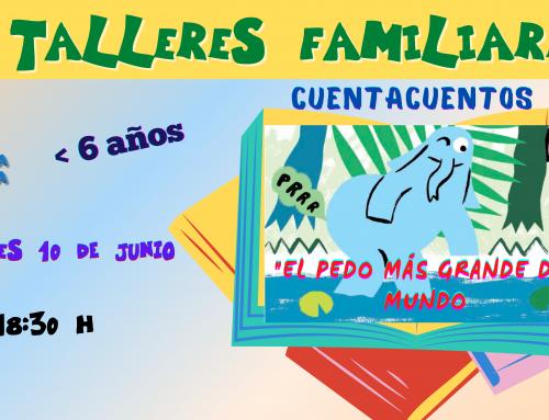 La Concejalía de Infancia organiza un taller y un cuentacuentos sobre «El pedo más grande del mundo».
