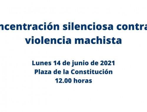 El ayuntamiento de Humanes de Madrid se suma a la concentración silenciosa contra la violencia machista.