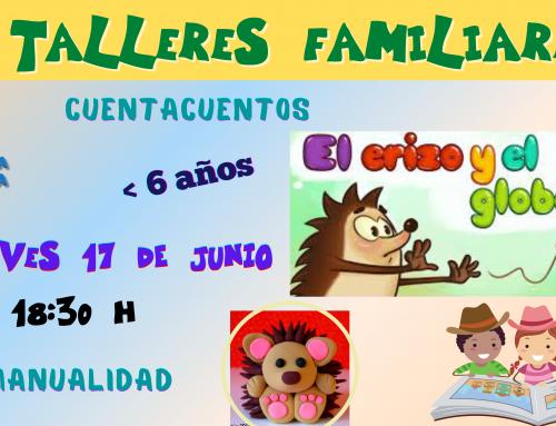 La Concejalía de Infancia organiza un cuentacuentos y un taller para hijos menores de 6 años.