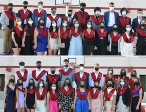 Graduación de los alumnos de 4º de la ESO del colegio La Dehesa de Humanes de Madrid