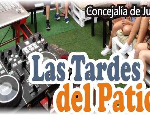 La Concejalía de Juventud pone en marcha «Las tardes del Patio».