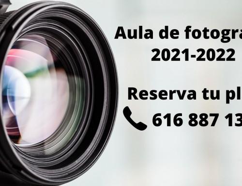 Aula de Fotografía abre el plazo para los cursos de nivel básica, avanzada, creativa y fotográfica.
