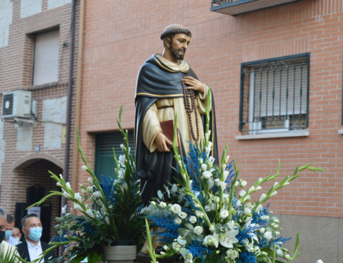 Humanes de Madrid rinde homenaje a su Patrón Santo Domingo de Guzmán en el VIII centenario de su muerte