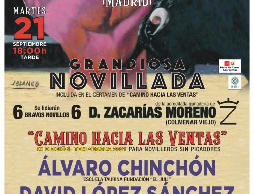 La Comunidad de Madrid incluye una novillada sin picadores del certamen de «Camino hacia las Ventas» que se celebrará en la plaza de toros de Humanes de Madrid