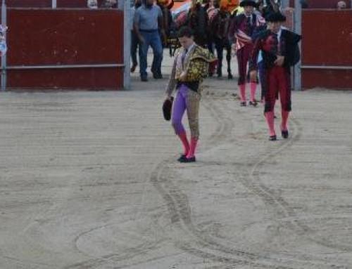 Celebrada en Humanes de Madrid una novillada sin picadores.